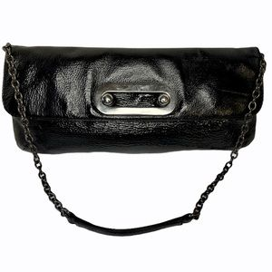 Hobo International Patent Leather Clutch Handbag
